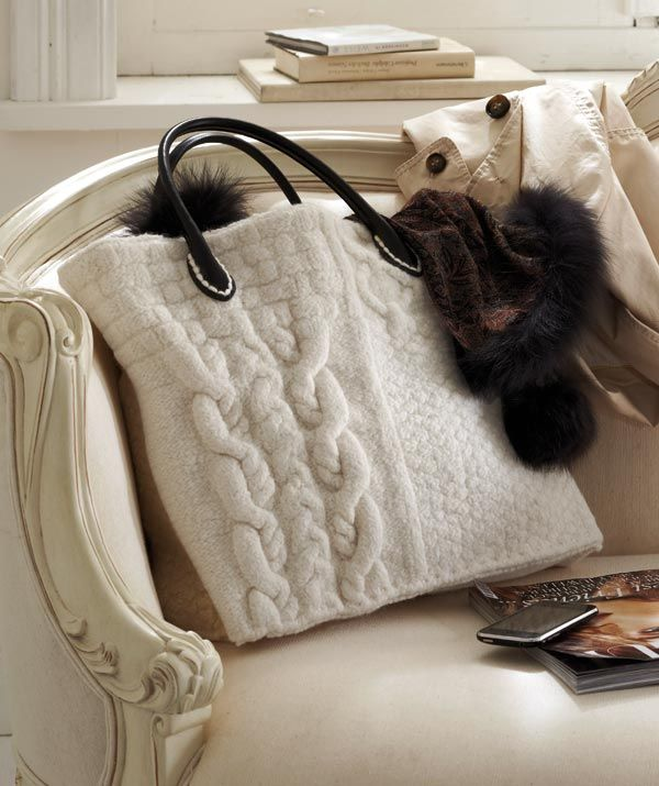 319 Best Images On Pinterest Crocheted Bags Knit Bag And