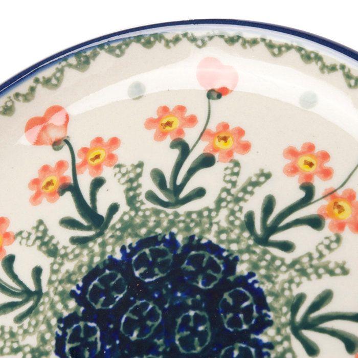 セラミカ(ツェラミカ)【パルテール】プレート(16cm)|ポーリッシュポタリー(ポーランド陶器・北欧・CeramikaArtystyczna)|※包装のし無料対応