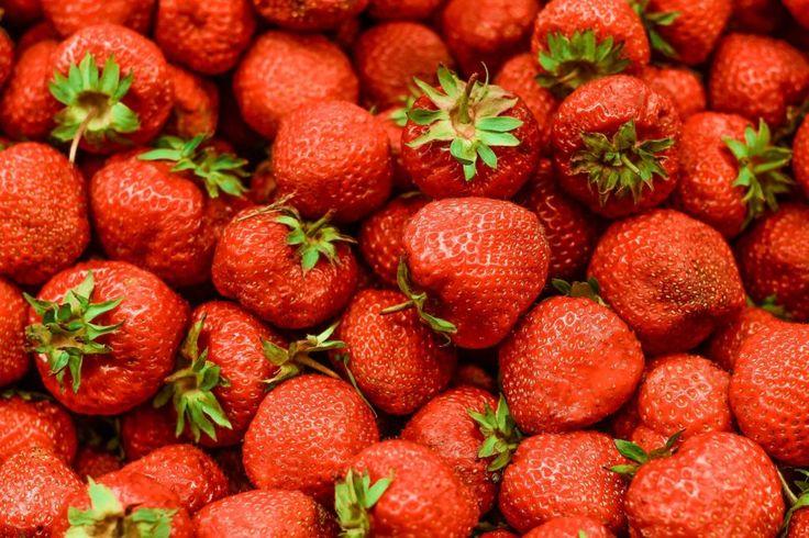 Fondo de Pantalla de Fresas, Fruta, Rojas, Cantidad, Brillo