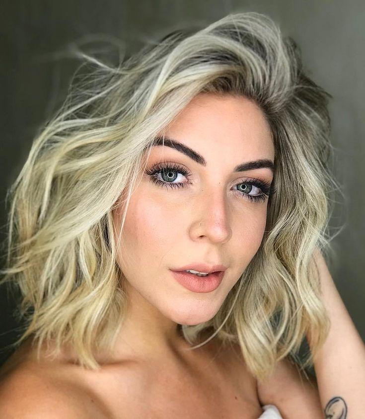 langes, welliges, feines, blondes Haar – Google-Suche