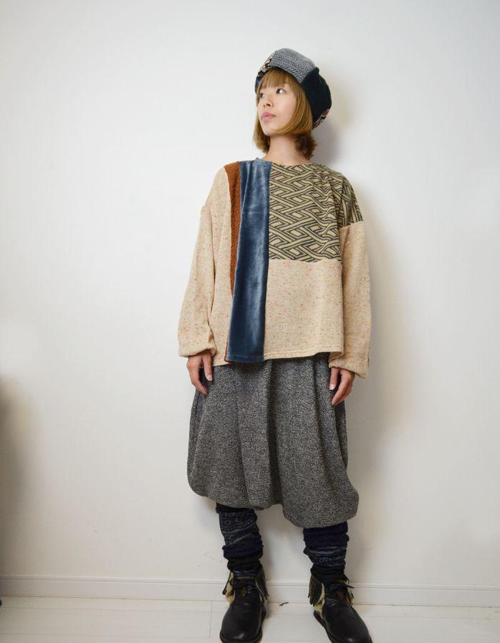 296a76c69e504 【楽天市場】チャイハネ(CAYHANE)アスリィTOP COT-8305 エスニックファッション 冬