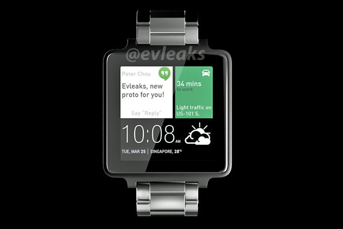 HTC's smartwatch exposed