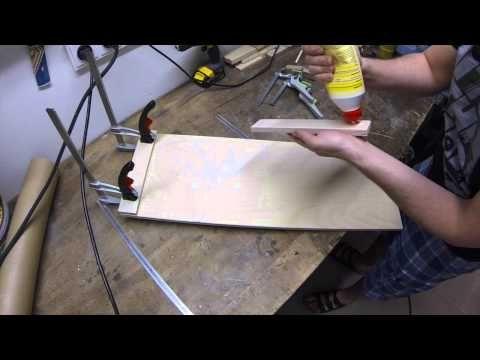 How to build: Balance Board, Longboard Nose Manual Training - YouTube