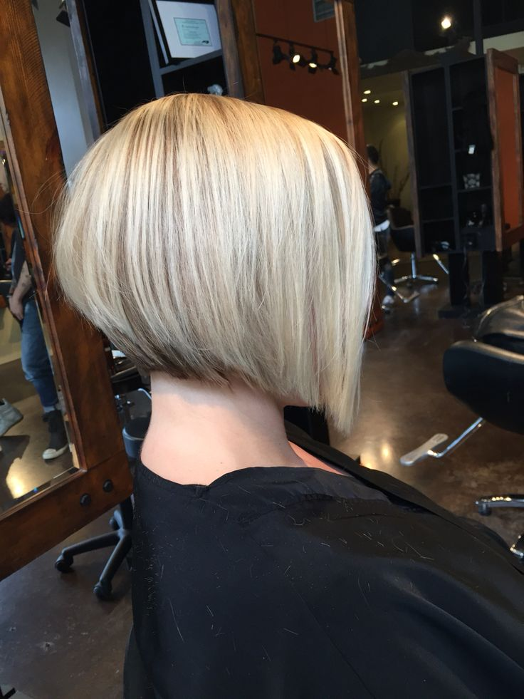 blonde bob fine hair angled bob tim hartley london 8