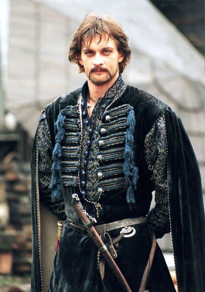 "Aleksandr Domogarov in ""Ogniem i Mieczem"" as Cossack Colonel Bohun. #ukrainianesthetic"