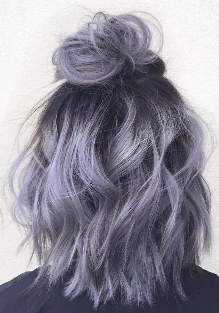Dyed Hair Guys Hair Short Ombre Hair Silver Ombre Hair Silver Hair Color