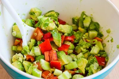 Shrimp, Avocado, and Red Pepper Salad Recipe (Low-Carb ...