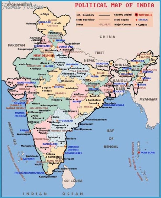 India Map Tourist Attractions Httptravelsfinderscomindia - China map states cities map