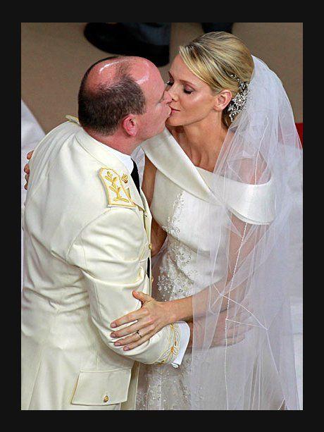 2. Juli 2011: Fürst Albert von Monaco und Charlene...