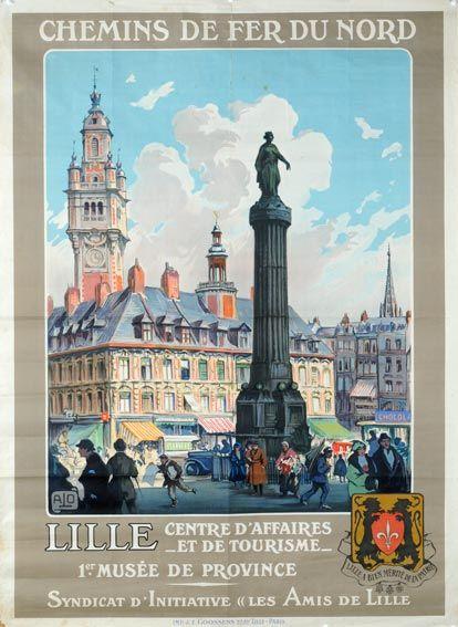 Lille, France, Chemins de Fe du Nord