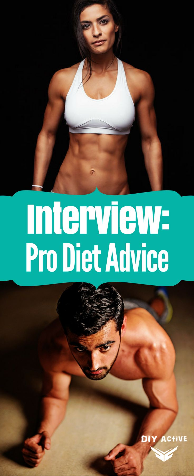 Get some realistic, doable pro fitness and health advice #Nutrition