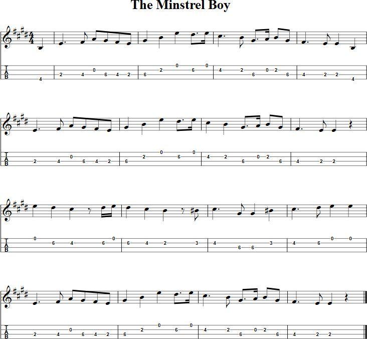 The 25+ best Minstrel boy ideas on Pinterest | Printable sheet ...