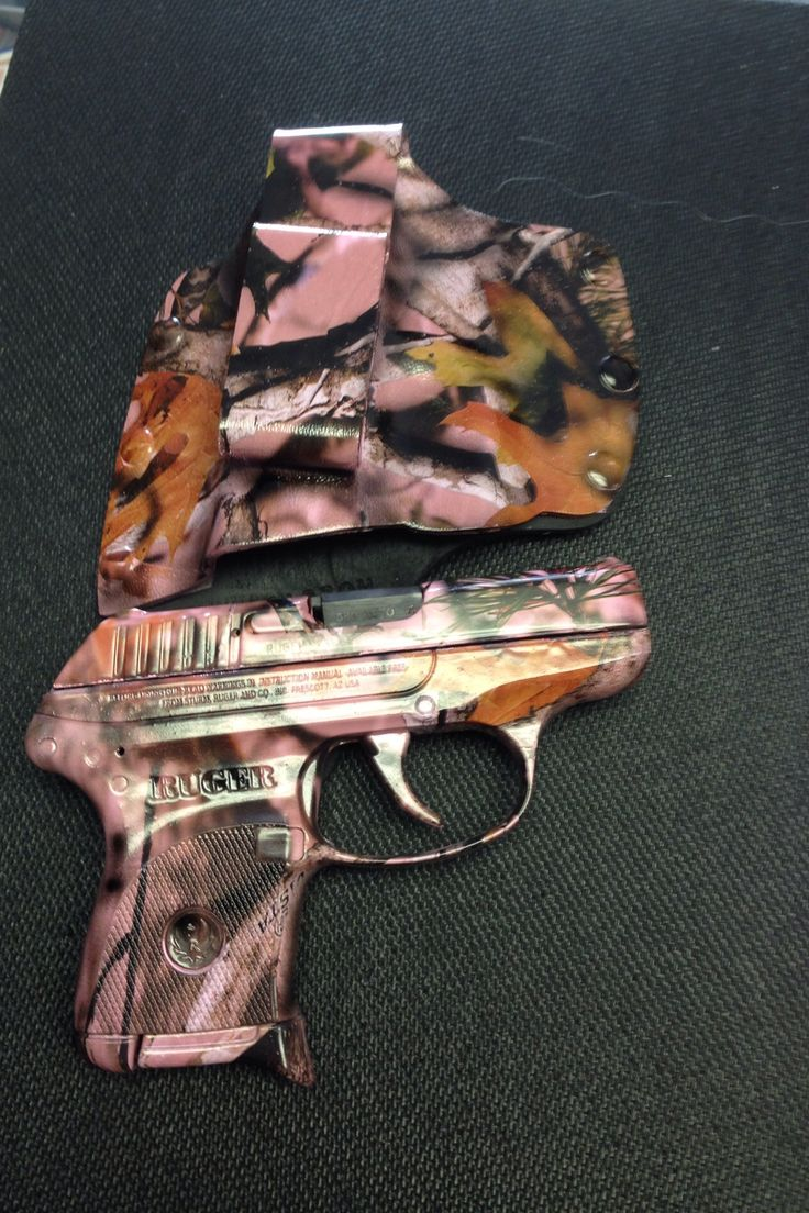 """LOVE THIS! Perfect carry for the ladies! Ruger .380 Pistol in """"Mossy Oak Pink Camo"""" At Brevard Ammo and Sporting Supply-Titusville, FL"""