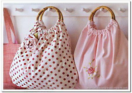 No dejes de ver este fantástico tutorial para que aprendas cómo realizar una hermosa bolsa de tela
