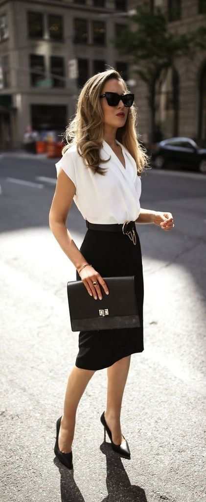 35 Chic Work Outfits Women for Summer 2019 1