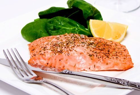 FOODS THAT BOOST YOUR MOOD: omega 3 fatty acids and vitamin B12 can ease mood changes and depression.  Fish such as salmon, tuna, mackerel, flaxseeds, nuts, soy beans and dark green veges are good.
