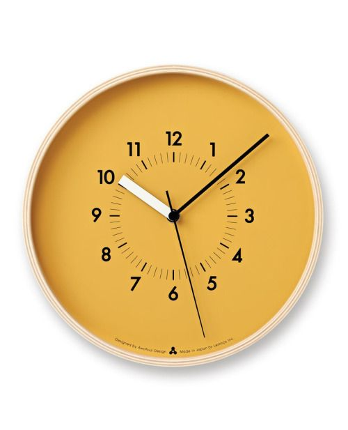Superior State Of The State   SoSo Wall Clock U2014 Designspiration Design