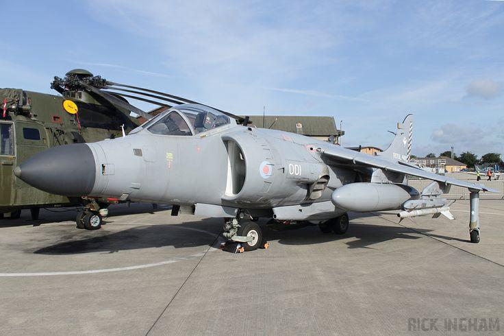 Royal Navy, BAe Sea Harrier FA2, ZH800