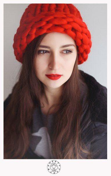 Super Chunky Hat Hand knit Hat Slouchy Hat Helsinki от SheepyMagic