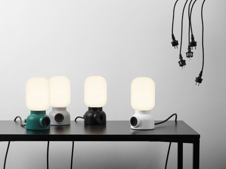 Form Us With Love — ateljé Lyktan – Plug Lamp