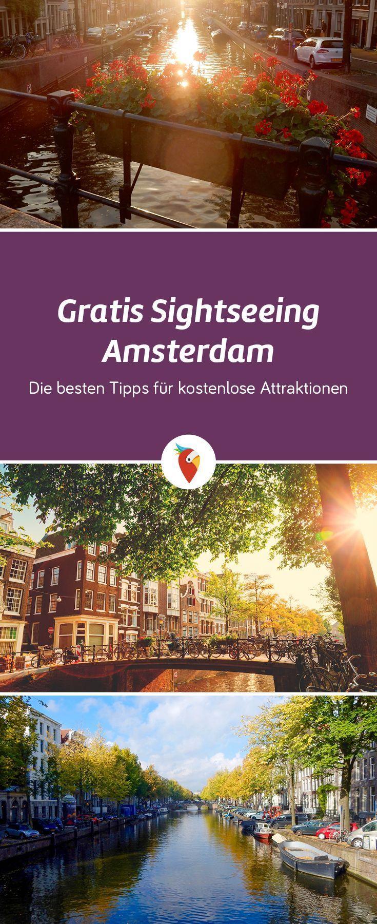 Gratis Sightseeing Amsterdam: Die besten Tipps für kostenlose Attraktionen
