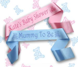 Personalised Banners For Baby Showers