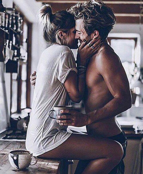 Imagen de couple, love, and kiss