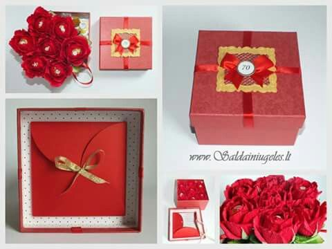 Sweets design gift idea chocolate flowers