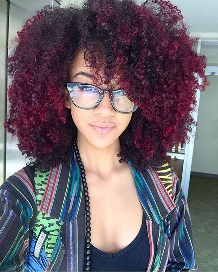 Here's some spring/summer #hairspiration from @alannanicolex. Are you thinking of color? #NaturalHairDoesCare #colorcodefriday