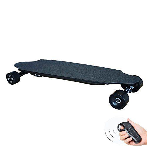 38cuatro rueda eléctrico monopatín longboard 600W Hub motor con Bluetooth Remote Control E-Skateboard patinete para adultos