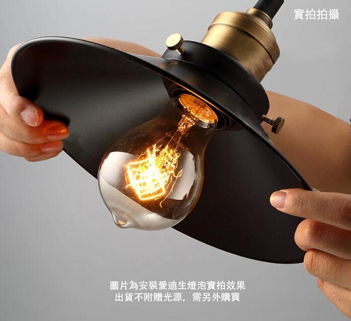 Pas cher une seule t te noir abat jour drop lumi re petite for Acheter une maison en chine
