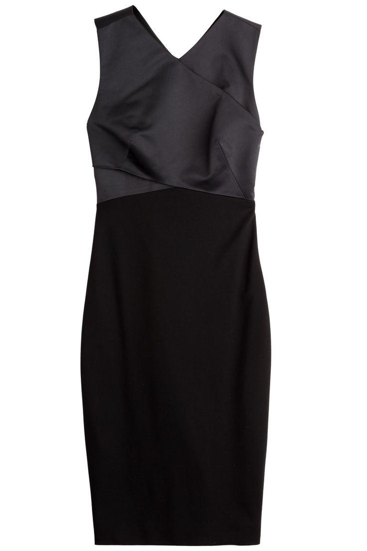 Jason Wu - Satin and Jersey Dress