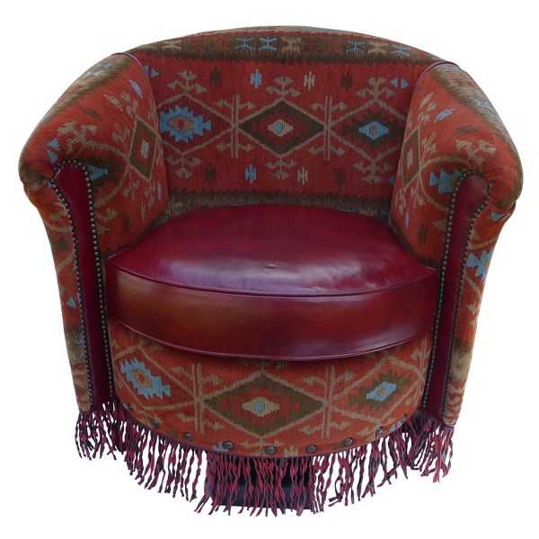 Jacinto Horseshoe Chair | Western Chairs | Western Living_room | Western  Furniture