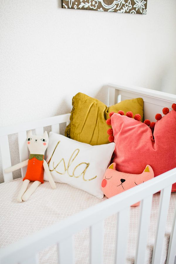 Where did the design inspiration for your daughter's nursery come from?  Well, since getting inspired can be hard at times, I always start with a focal piece and go from there. Usually, this piece is a…