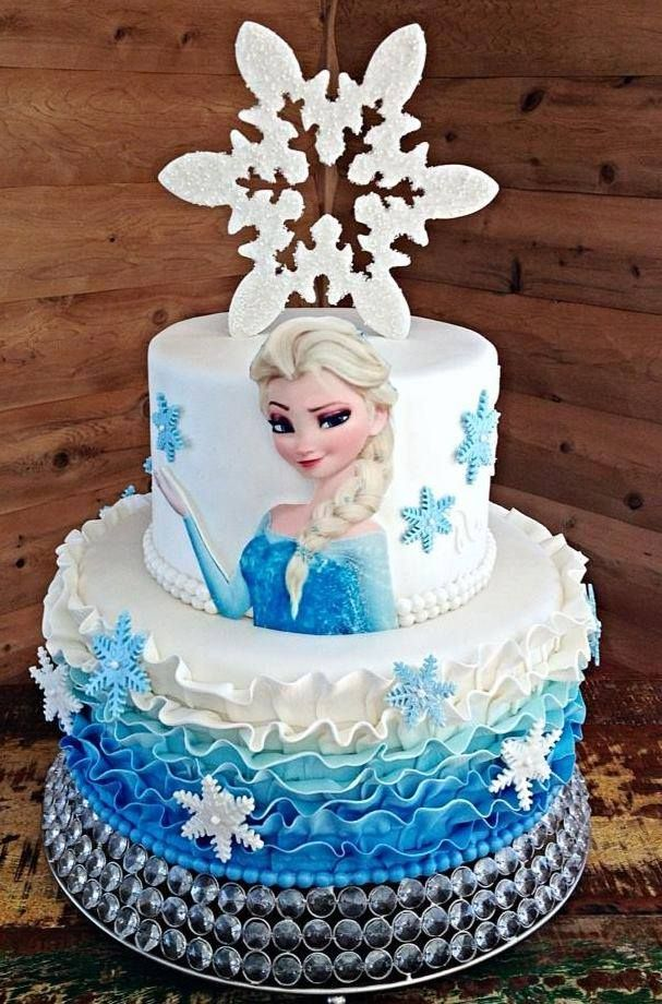 Edible Elsa For Cake Decorating Shes Fully Edible Made