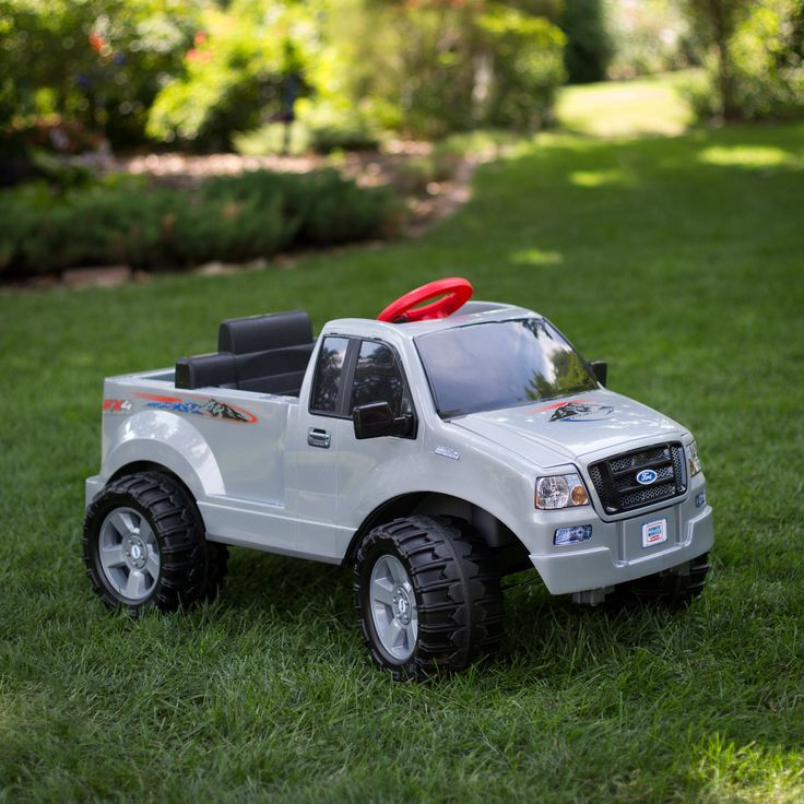 Have to have it. Fisher-Price Power Wheels Ford F150 Truck Battery Powered Riding Toy - $176.99