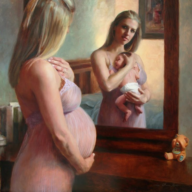 "Anna Rose Bain's Art Blog: New Self Portrait - ""The Wait and the Reward"""