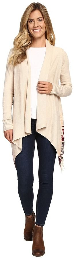 Woolrich Long Way Fringe Cardigan