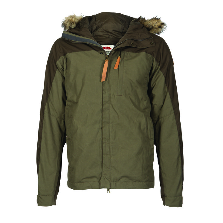 Winter coat by Fjällräven.