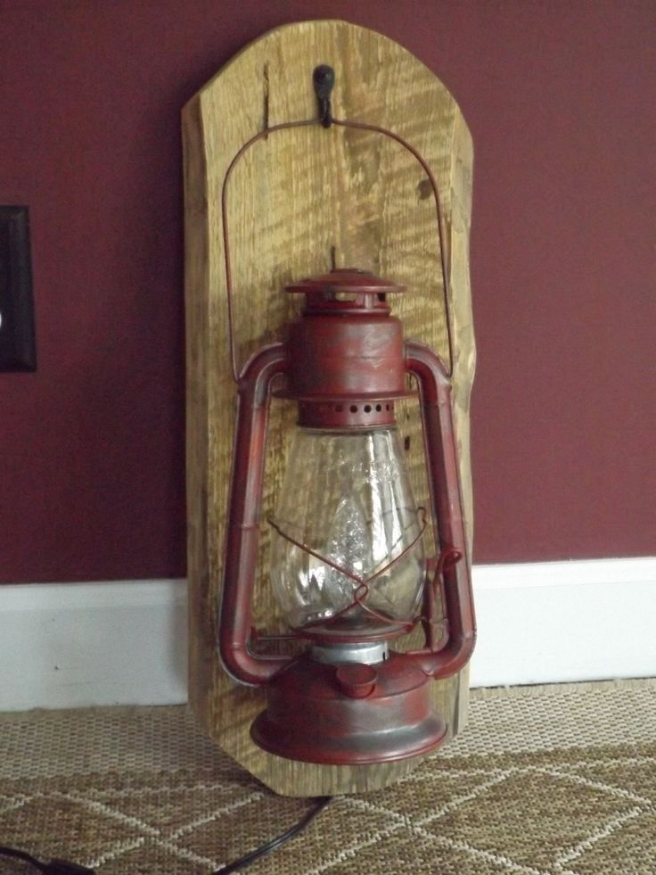 Rustic Electric Wall Sconces : 17 Best images about Big Rock Lanterns - Custom Electric Lantern & Lamp Lighting on Pinterest ...