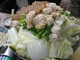 世田谷『高橋』の白子鍋 : 気ままな絵日記