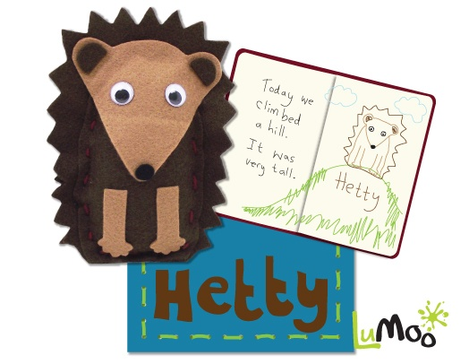 Hedgehog Travel Buddy Kit. Make your very own huggable hedgehog and write about your travels together in the mini passport notebook. After a long day of exploring you can tuck your hedgehog in with their very own customised blanket. The kit comes in a handy suitcase, perfect for keeping your hedgehog warm and cosy!