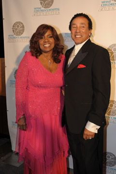 WIth the Sensational SMOKEY ROBINSON at Miami Children's Charity Foundation (2012)