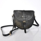 Cheap Fashion Louis Vuitton Cruise Collection 2012 Perforated Genuine Calfskin Leather Chantilly - Black M94086 Replica