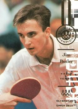 1996 Upper Deck USA Olympicards #101 Jim Butler Front