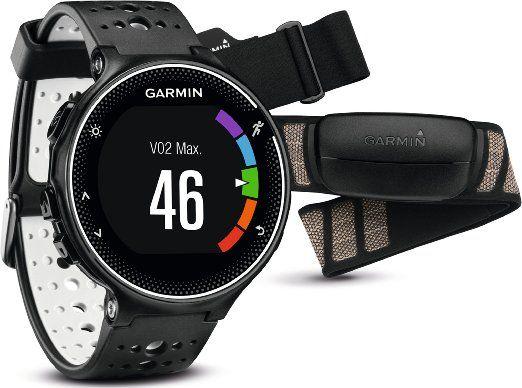 € 251,49 Orologio Smartwatch Garmin Forerunner 230 HRM Premium Bundle GPS da corsa Nero