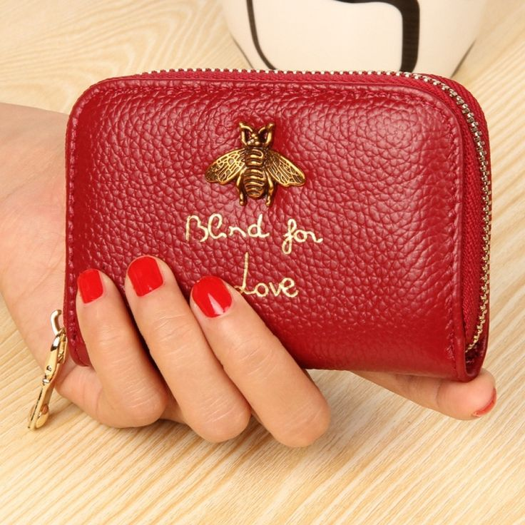 Genuine leather women cardholder in 2020 wallet leather