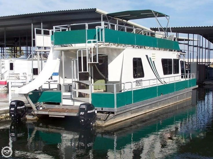 1999 43' Used Myacht 43 X 13 House Boat For Sale - $60,000 - Montgomery, Texas. See boat pictures, videos, and detailed specs.