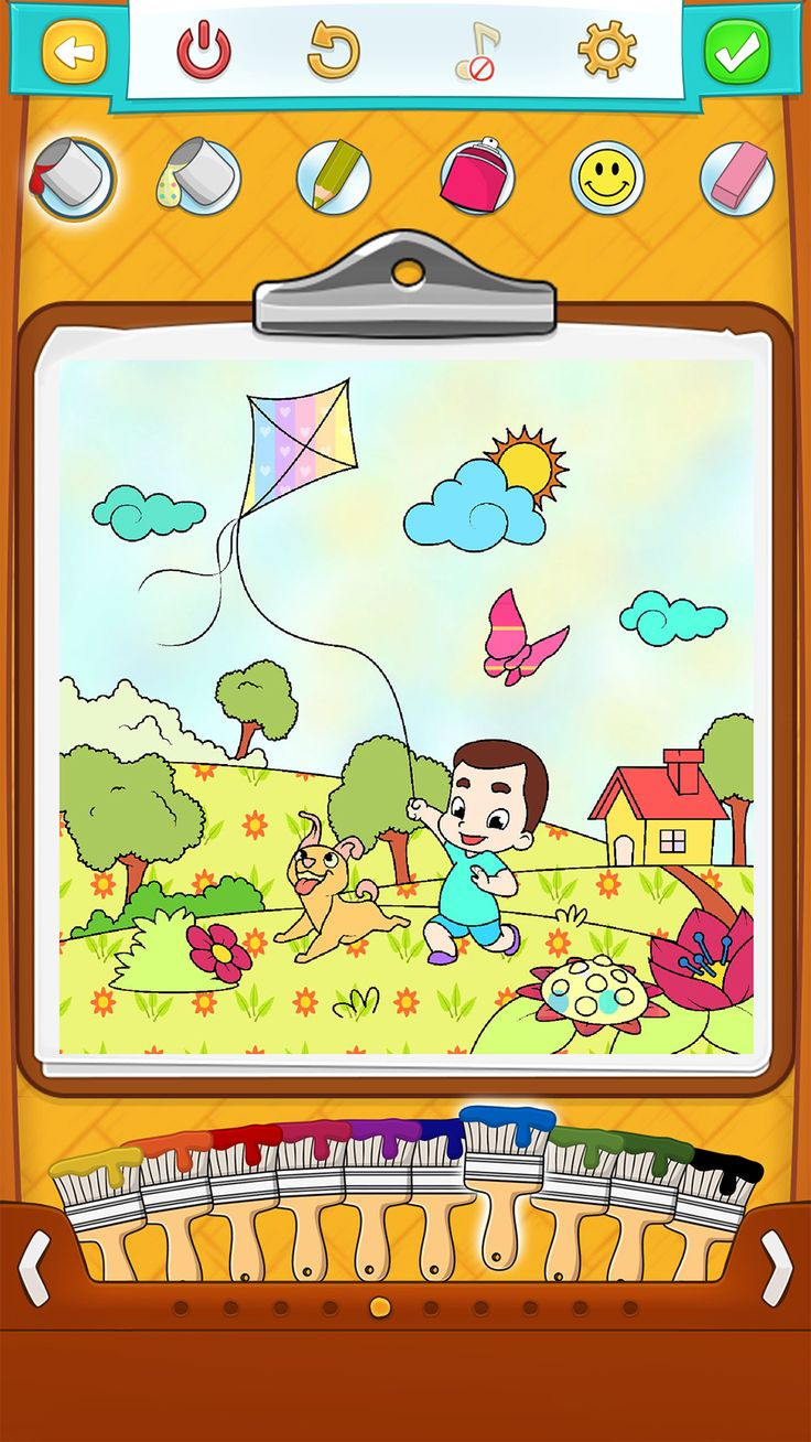 Coloring pages iphone - Spring Coloring Pages Android Iphone Ipad Windows Phone App