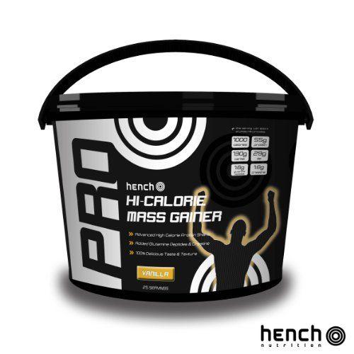 From 39.98 4kg Hench Nutrition Hi-calorie Mass Gainer / Weight Gain Whey Protein Powder - Vanilla